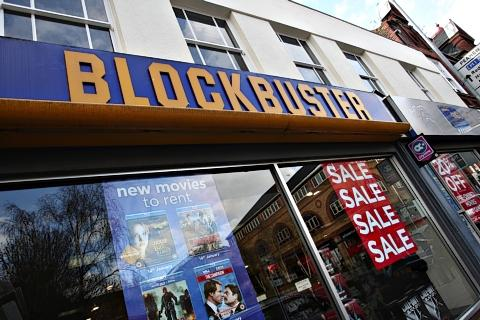 Blockbuster staff facing uncertain future