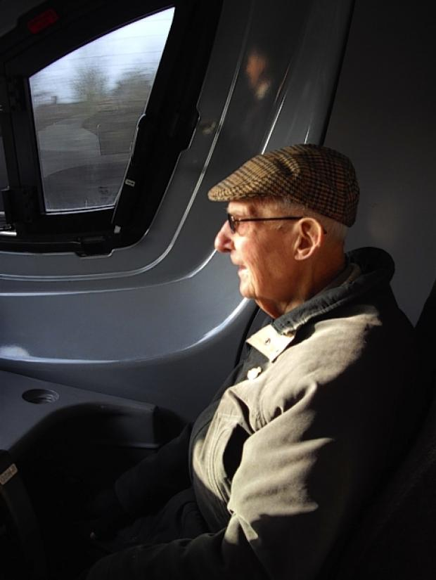 St Albans man travels in train driver's cab for 90th birthday