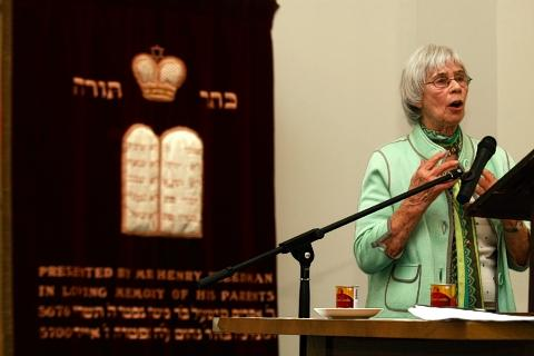 Holocaust survivor, Kitty Hart-Moxon