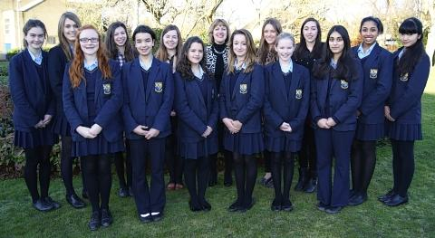 Girls school celebrate outstanding Ofsted report