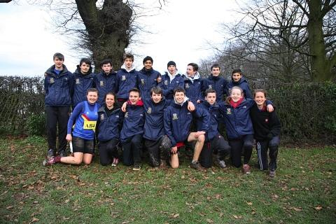 St Albans School's Boys team enjoyed a record tenth win at the relay