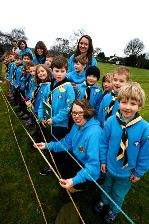 Longest strand of pasta: Redbourn beavers attempt world record