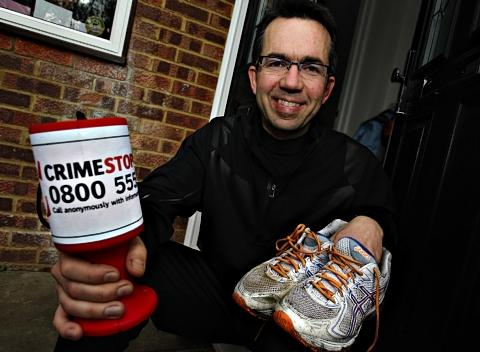 St Albans man set to run London Marathon for crime charity