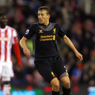 Lucas Leiva hopes Liverpool can cap a positive week with victory against Zenit