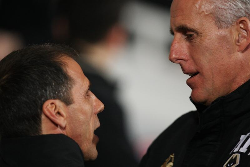 Gianfranco Zola says he respects Ipswich Town manager Mick McCarthy following their previous head-to-heads. Picture: Action Images