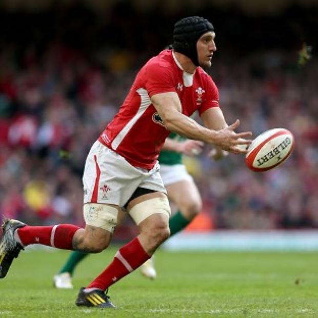 Sam Warburton is on the Wales bench back after recovering from a shoulder injury
