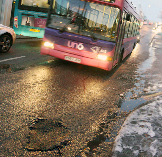 New pothole reporting system promises 'better customer experience'