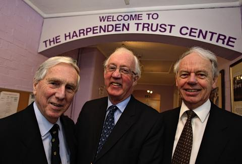 (Left to right) Ian Hemmin, Graham Westwell and Doug Hall.