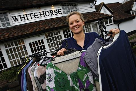 Pop-up shop raises over £1,500 for charity