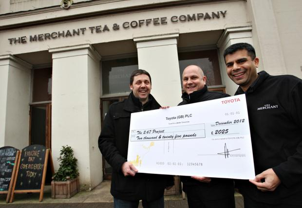 Church group receives £2,000 to support youngsters
