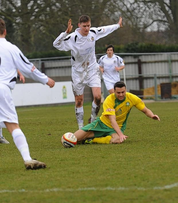 St Albans City fought back to win 3-1 at Barwell: Robert Walkley