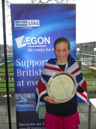 Emily Arbuthnott was crowned champion at the Winter