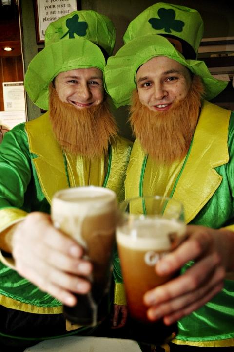 Pub's St Patrick's Day event raises cash for charity