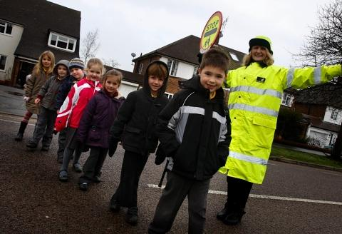 Queen of the road: Lollipop Lady of the year nominee 'couldn't believe it'