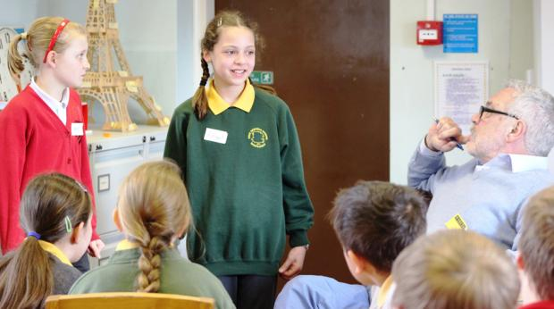 Harpenden pupils visited by 'inspirational' author