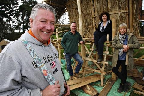 Video TV builder Tommy Walsh helps with Harpenden garden design
