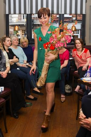 A St Albans fashion boutique teamed up with a local restaurant to put on a fashion show to raise cash for charity.