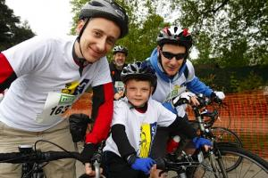 Around 1,300 cyclists set off on a charity cycle ride in St Albans to raise money for Marie Curie Cancer Care, Radlett Lodge School and Herts Air Ambulance...