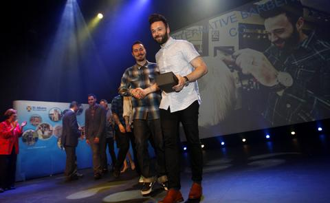Alternative Barbering Co. in George Street took the main prize in 2013.