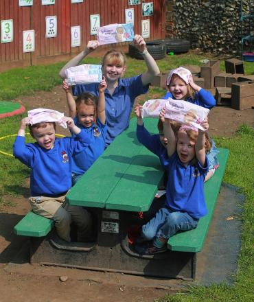 Harpenden nursery wins 'wipe out waste' competition