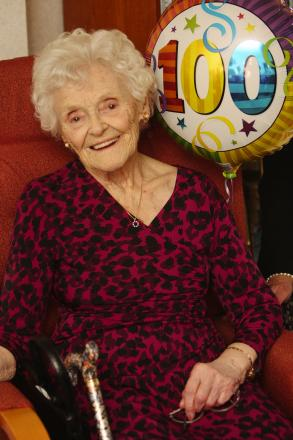 'I just like to be bright and breezy', Harpenden woman celebrates 'wonderful' 100th birthday
