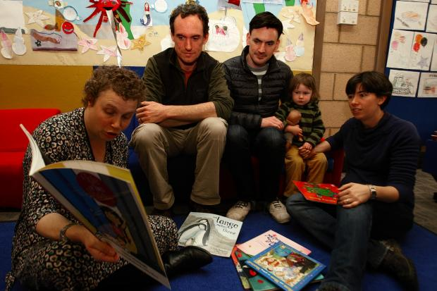 Families enjoy LGBT storytime at St Albans Library