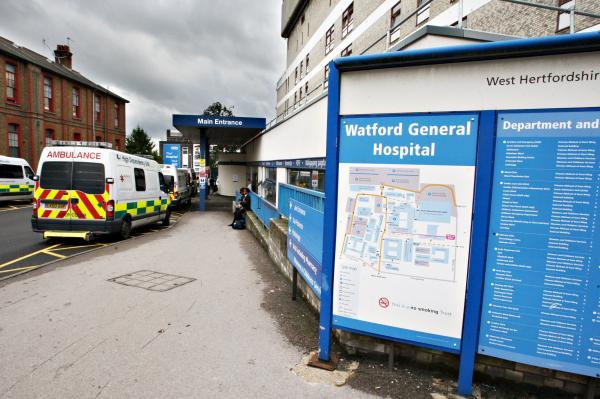 Watford General Hospital 'very busy' due to Bank Holiday pressure