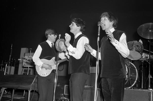 The Zombies performing in Watford Town Hall in May 1964