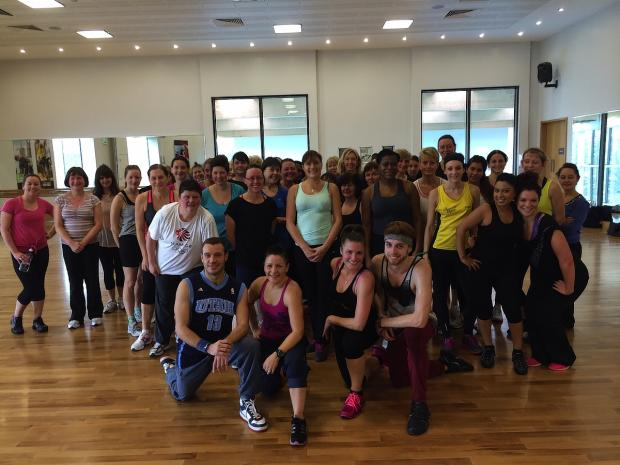 Leisure centre dance class raises money for Philippines Typhoon Appeal