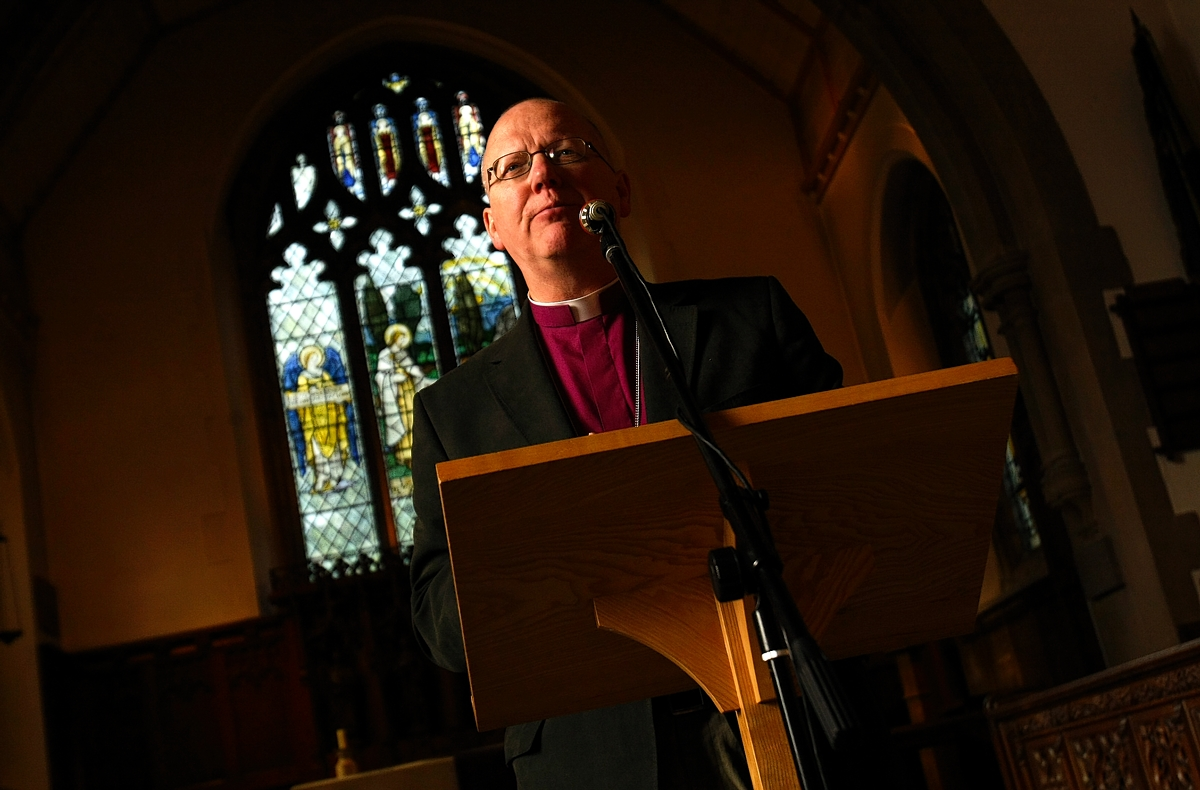 The Bishop of St Albans, Reverend Alan Smith.