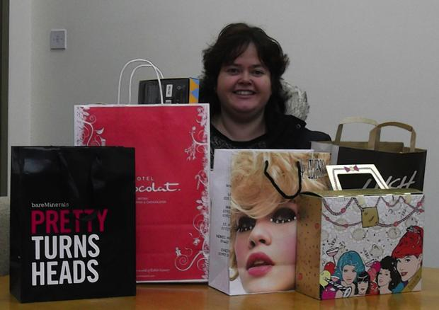 St Albans woman's delight at shopping competition win