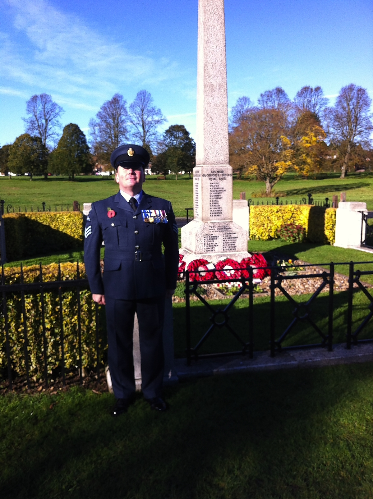 Royal Air Force New Year's Honour for Redbourn man