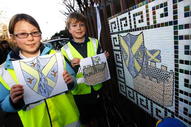 Station mosaics unveiled: 'a real 'wow' moment' for St Albans pupils