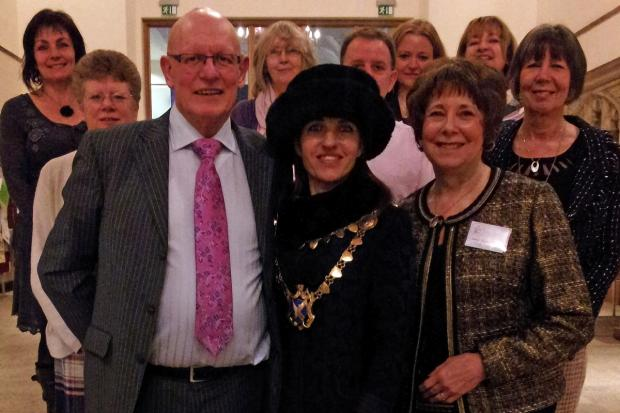 Mayor's service celebrates charity's first anniversary