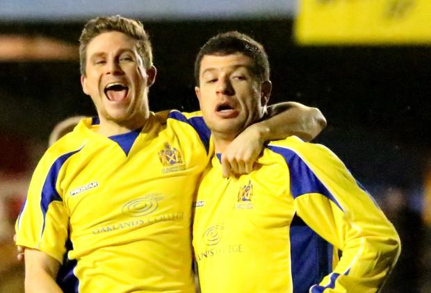 St Albans City won their play-off final at Chesham