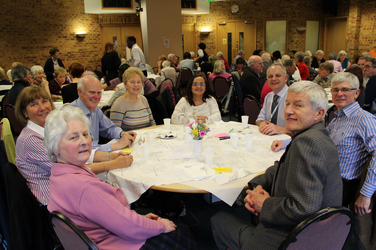 Hospital volunteers attend 'thank you' lunch