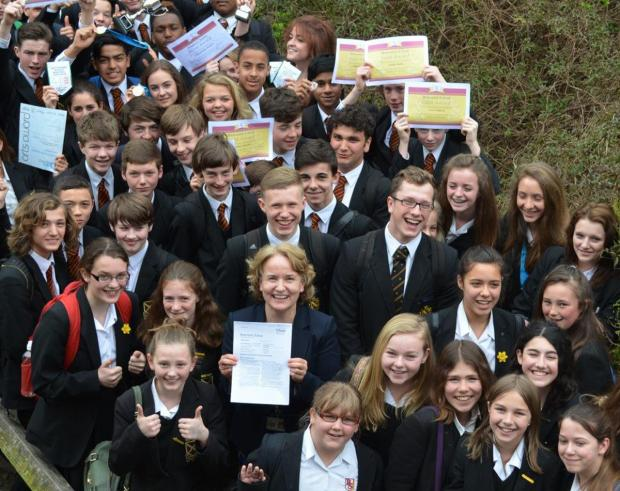 Beaumont School celebrates 'outstanding' Ofsted report