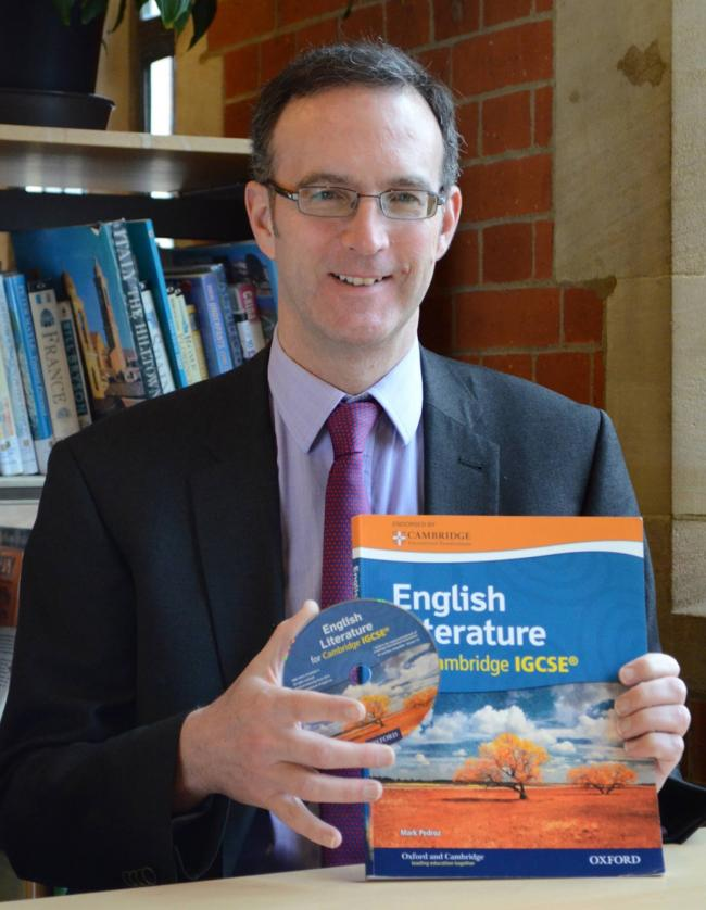 St Albans teacher publishes book on pioneering English qualification