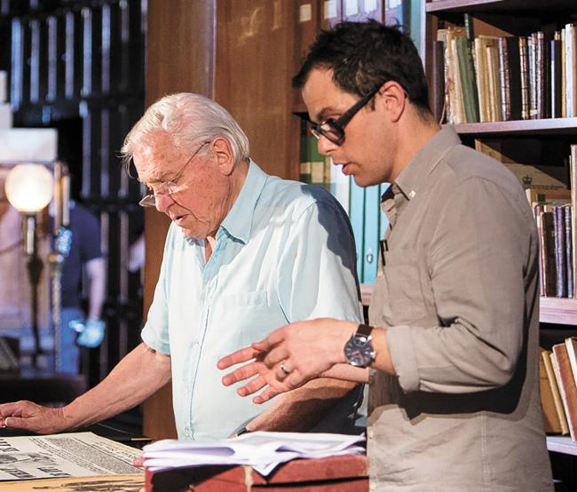 St Albans director Dan Smith talks about directing Sir David Attenborough