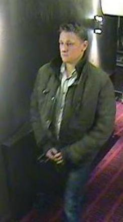 Police release second CCTV image following Valentine's Day dine and dash