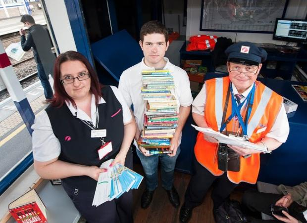 New book exchange opened at St Albans Station
