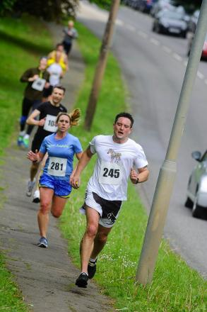 Gallery: runners tackle blustery St Albans 10k race