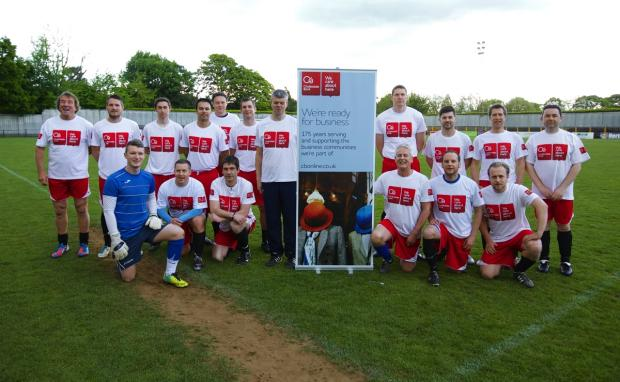 Charity football match raises £1,000 for Watford Peace Hospice Care