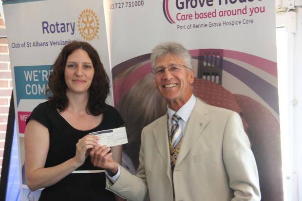 Charity golf day provides a month's worth of nursing at Rennie Grove Hospice Care
