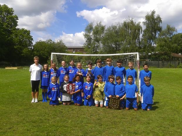St Albans & Harpenden Review: Fleetville's teams celebrated a superb season
