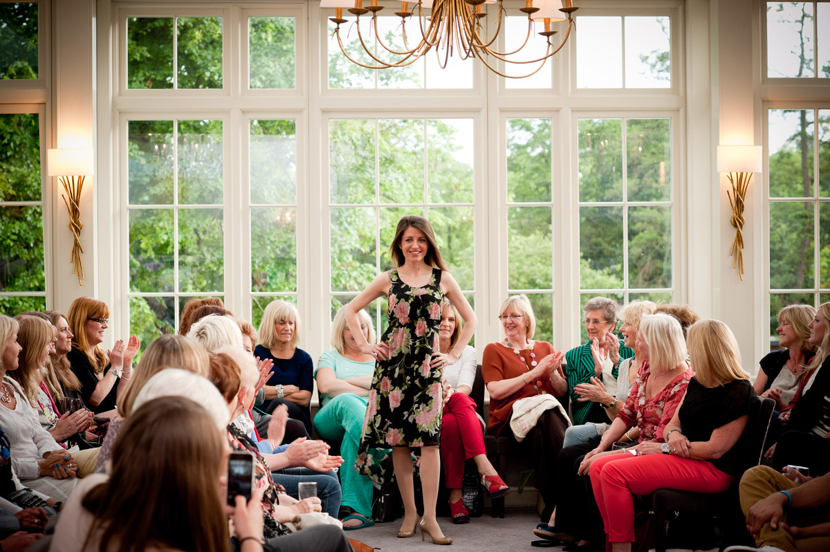 Charity fashion show in aid of disability charity