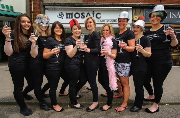 Hair salon celebrates quarter of a century of business