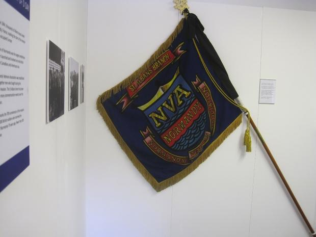 Normandy veterans' flag hoisted above Museum of St Albans