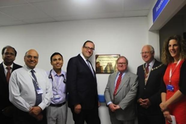 Ambulatory care unit at Watford General Hospital formally opened