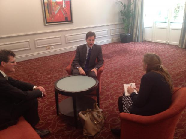 Nick Clegg optimistic about General Election in St Albans, but predicts 'a fight on our hands'